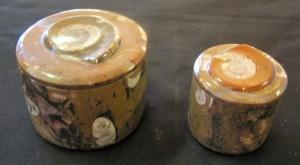 Ammonite Fossil Jars Small $29.95 Large $37.95