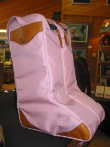 Boot bag, pink
