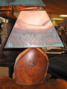 Mesquite Lamp #883 Rec 1 15 x 8 x 6 $199