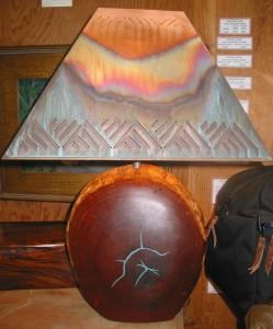 """Mesquite Lamp #792 Rec 4 22""""x 11""""x 5"""" $323"""