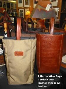 2 bottle wine bags