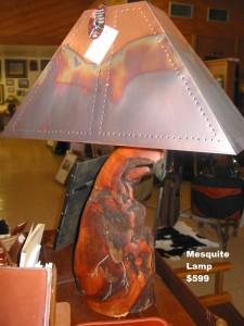 Mesquite lamp $599