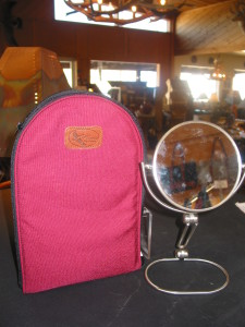 Travel Mirror with Case