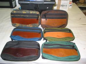 Travel Portfolios, Variety of Cordura colors & leather trims
